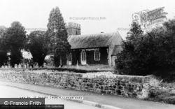 Llanarthney, St David's Church c.1955, Llanarthne