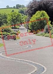 Llanarthney, The National Botanic Garden Of Wales c.2000, Llanarthne