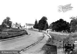 Llanarthney, The Village 1937, Llanarthne