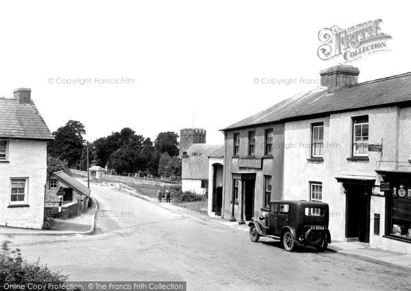 Photo of Llanarthney, Village 1938