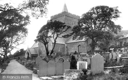 St Padarn's Church c.1880, Llanbadarn Fawr