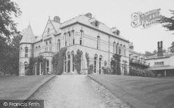 Llanbdr Dyffryn Clwyd, Llanbedr Hall c.1936