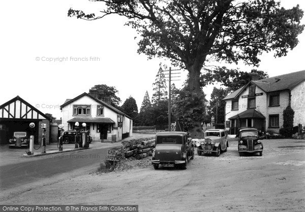 Llanbedr Dyffryn Clwyd, Post Office Stores 1956