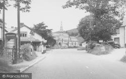 Llanbdr Dyffryn Clwyd, The Village c.1955