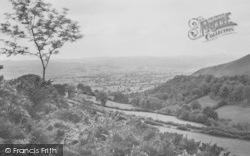 Llanbdr Dyffryn Clwyd, Vale Of Clwyd From Bwlch Pass c.1936