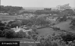 General View From Craig Mawr c.1955, Llanbedr