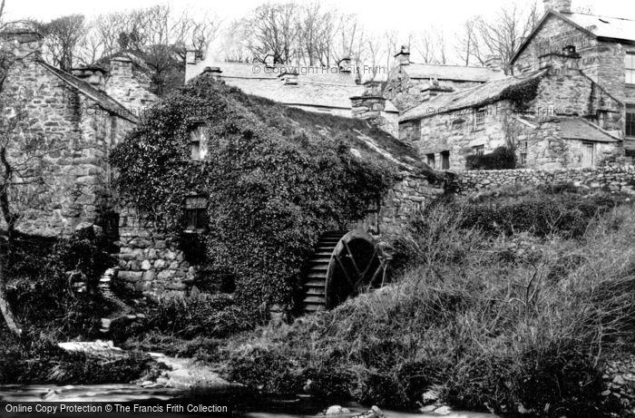 Llanbedr,Old Gwynfryn Mill 1889,Gwynedd