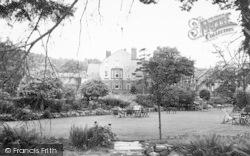 Plasnewydd And Victoria Hotel Tea Gardens c.1955, Llanbedr