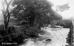 River Artro And Bridge 1892, Llanbedr