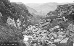 Roman Steps, Ardudwy Pass c.1880, Llanbedr