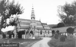 St Peter's Church c.1960, Llanbedr