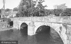 The Bridge And Craig Fawr c.1955, Llanbedr