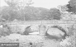 The Bridge c.1955, Llanbedr