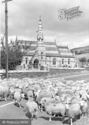 Llanbedr, The Church c.1955