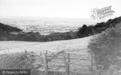 Llanbedr, The Valley c.1960