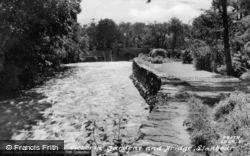 Victoria Gardens And Bridge c.1955, Llanbedr
