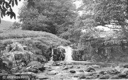Waterfalls Near Cwm Bychan c.1955, Llanbedr