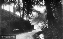 Llanbedrog, Beach Road c.1936