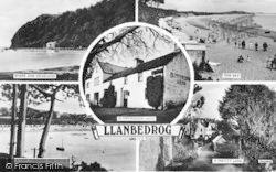 Llanbedrog, Composite c.1950