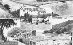 Llanbedrog, Composite c.1955