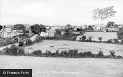 Llanbedrog, General View c.1955
