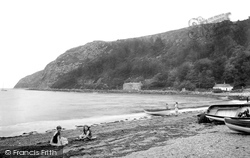 Llanbedrog, Head, The Beach 1921