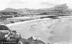 Llanbedrog, The Bay And The Rivals c.1955