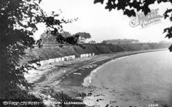 Llanbedrog, The Bay From Glyn-Y-Weddw c.1936