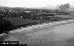 Llanbedrog, The Bay From The Headland c.1936