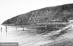 Llanbedrog, The Beach c.1955