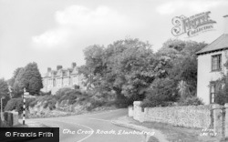 Llanbedrog, The Cross Roads c.1955