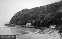 Llanbedrog, The Headland c.1955
