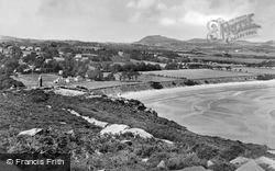 Llanbedrog, The View On The Headland c.1955