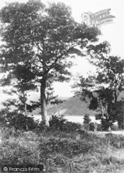 Llanberis, By Llyn Padarn Shore c.1935