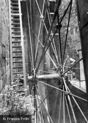 Llanberis, Dinorwic Slate Quarry Water-Wheel 1895
