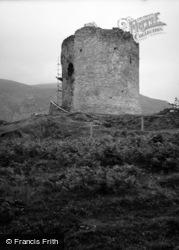 Llanberis, Dolbadarn Castle 1952