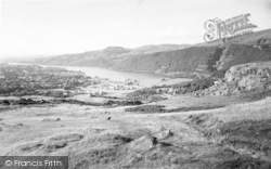 Llanberis, General View c.1960