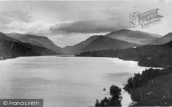 Llanberis, Llyn Padarn And The Pass c.1935