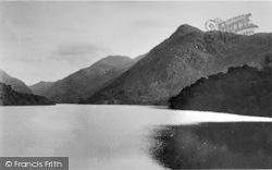 Llanberis, Llyn Peris From Pont-Y-Bala c.1935