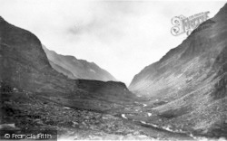 Llanberis, Pass, Daybreak c.1935