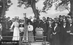 Llanberis, The Dinorwic Chair Eisteddfod c.1907