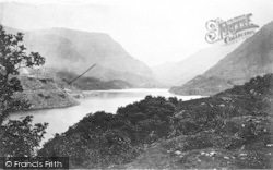 Llanberis, The Lake c.1935
