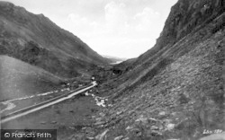 Llanberis, The Pass c.1935