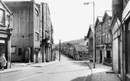 Llanbradach, Main Street c1955
