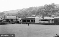 Llanbradach, The Bowling Green c.1955