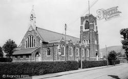 Llanbradach, The Church c.1955
