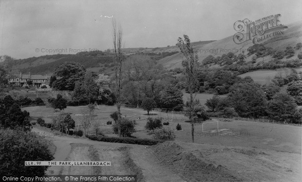 Llanbradach, the Park c1955