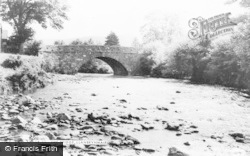 The Bridge c.1965, Llanbrynmair