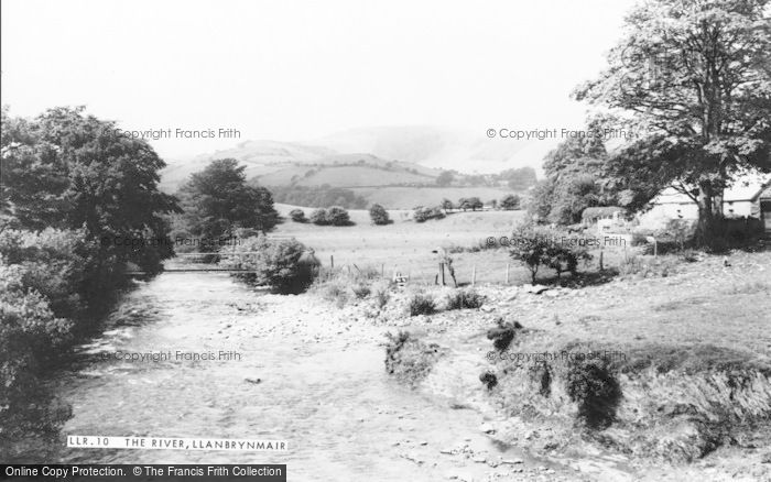 Photo of Llanbrynmair, The River c.1965