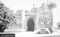 Llandaff, Bishop's Palace, The Old Gateway 1949